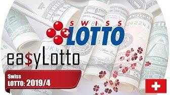 Swiss LOTTO Switzerland 12 Jan 2019
