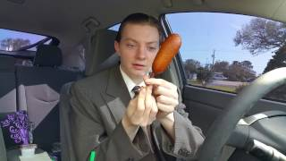 Sonic Pancake on a Stick - Food Review