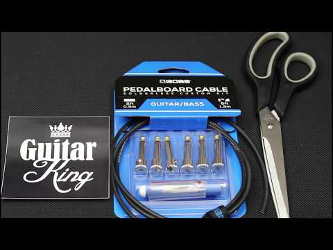 How to make patch cables with BOSS BCK Solderless Cable (demo)