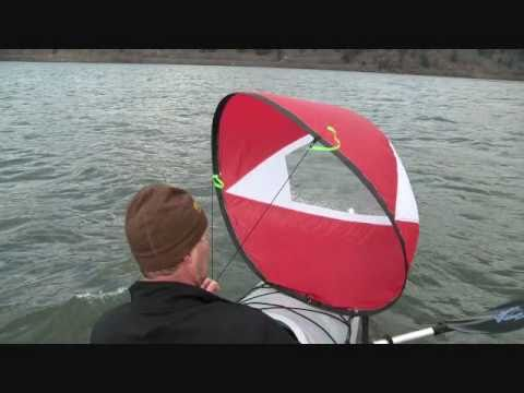 WindPaddle Sails - Rigging and On-The-Water sailing instructions.