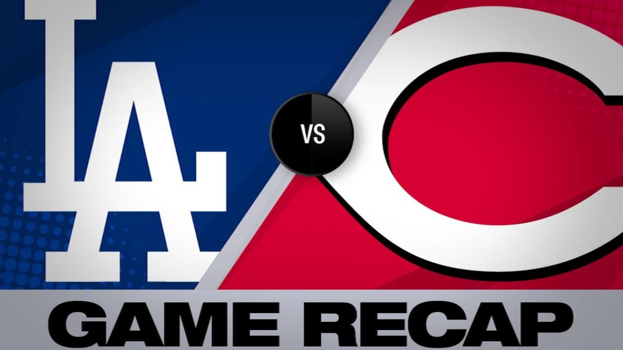 Verdugo and Ryu lead Dodgers past Reds - 5/19/19