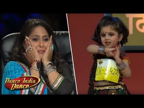 Cute Little Mahi Heart Winning Performance - DID L'il Masters Season 3 - Jaw Dropping Delhi Audition