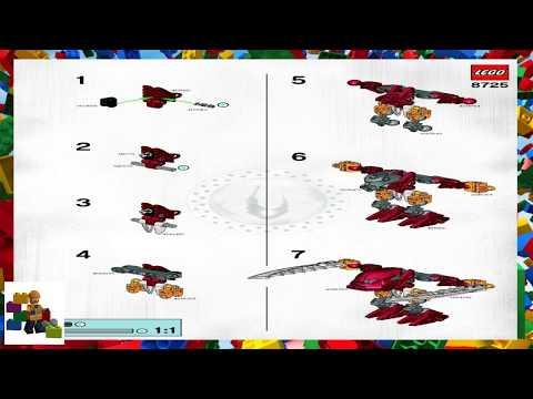 LEGO Instructions - Bionicle - 8725 - Balta