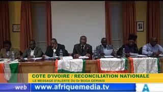 COTE D'IVOIRE LE MESSAGE D'ALERTE DU Dr BOGA GERVAIS
