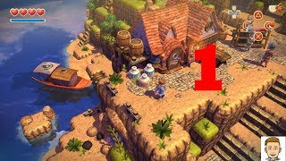 Oceanhorn monster of uncharted seas walkthrough gameplay (ios/android) part #1