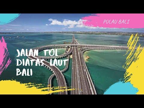 Pesona 'Wisata Bali'  - Jalan Tol Diatas Laut Nusa Dua Pulau Dewata Bali