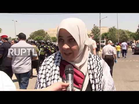 Jordan: Protesters Decry Israel
