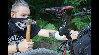 тест китайской сигнализации для велосипеда