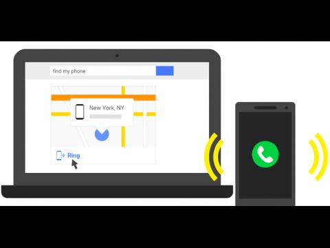 найти телефон по аккаунту google