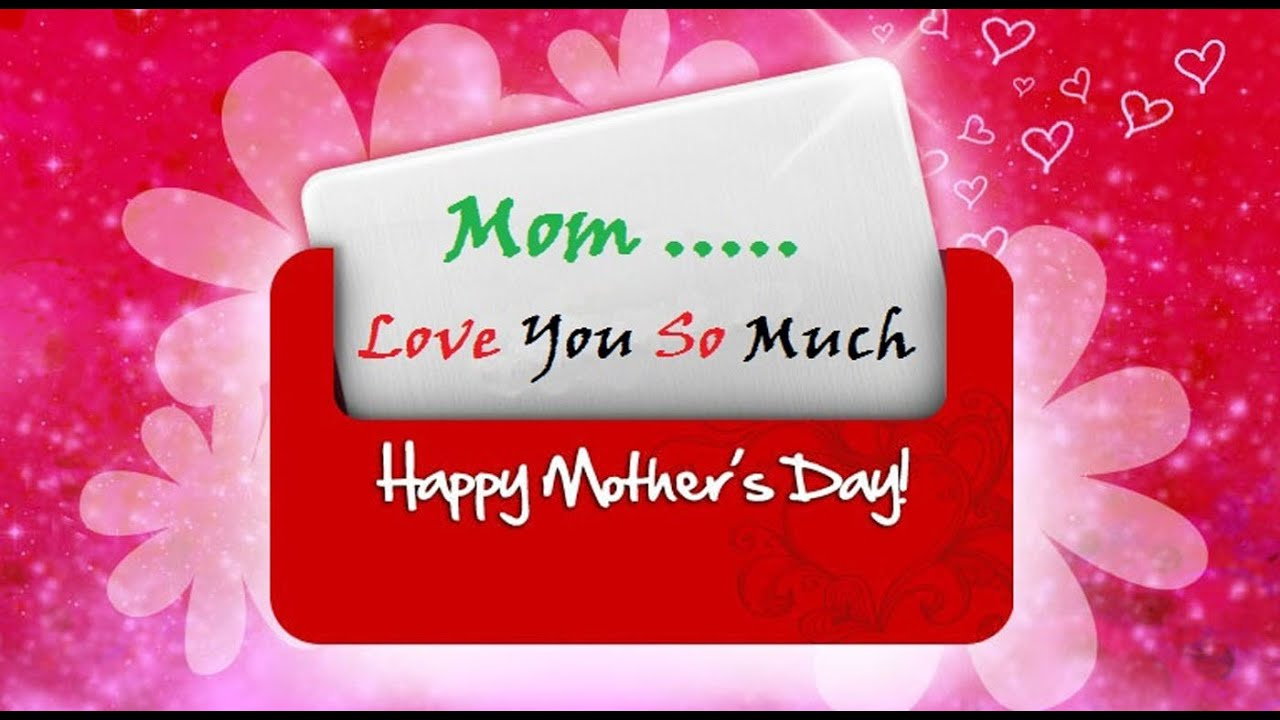 Happy mothers day 2016 greetings wishes whatsapp video e card happy mothers day 2016 greetings wishes whatsapp video e card from sondaughter to mom youtube kristyandbryce Image collections
