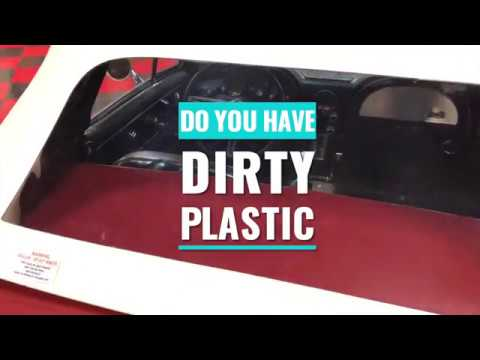 How to clean and protect plastics and plastic convertible top windows