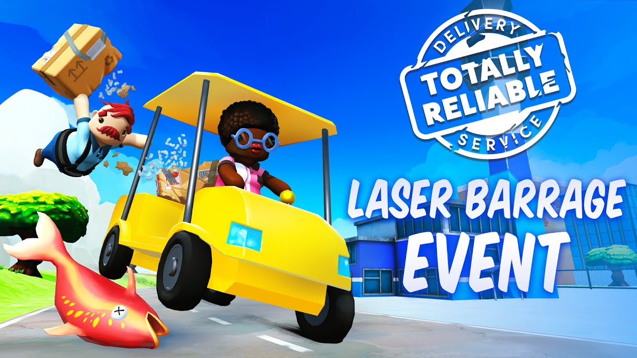 "Totally Reliable Delivery Service - New Event ""Laser ..."