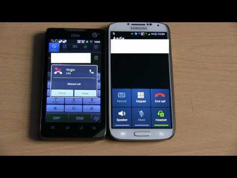 Samsung Galaxy S4 GT-i9502 and Zte U960 BOTH DSFA