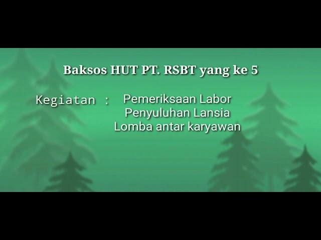 Event HUT PT RSBT ke 5 di Klinik Pratama Bakti Timah Prayun Kundur