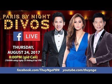 """Livestream với Don Hồ, Minh Tuyết, Trần Thái Hòa để giới thiệu PBN Live Show """"Divos"""""""