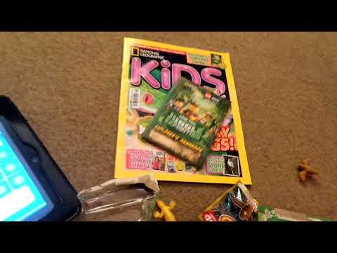 National geographics kids magazine stuff