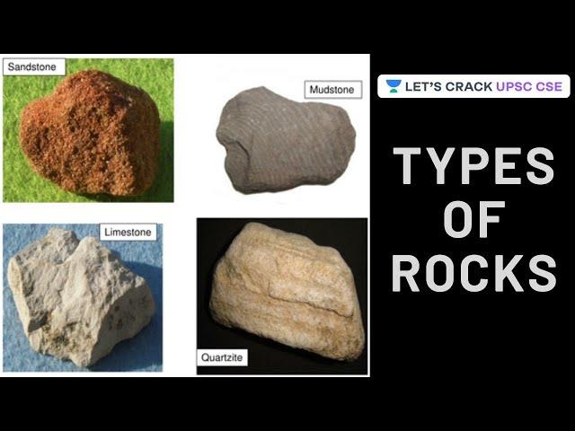 Types of Rocks | Indian Geography Summary | UPSC CSE | Byomkesh Meher
