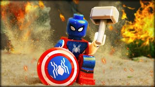 LEGO Captain Spider-man Lifted Thor's Hammer