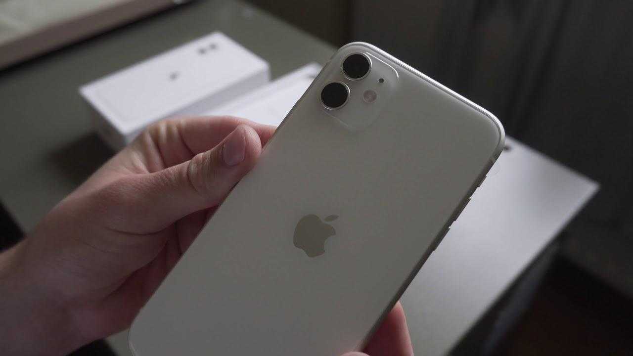 Apple iPhone 11 (White) \u2013 Unboxing