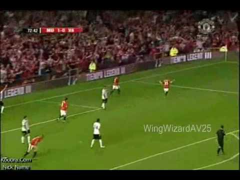 Antonio Valencia Man Utds Instant Star !! AV25