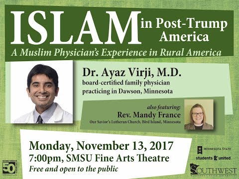 "Dr. Virji ""Islam in Post Trump America"" 11 13 2017"