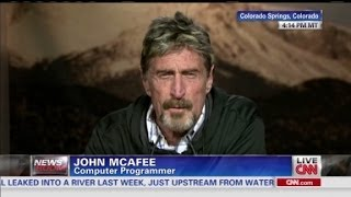 "John McAfee: ""America has lost its way"""