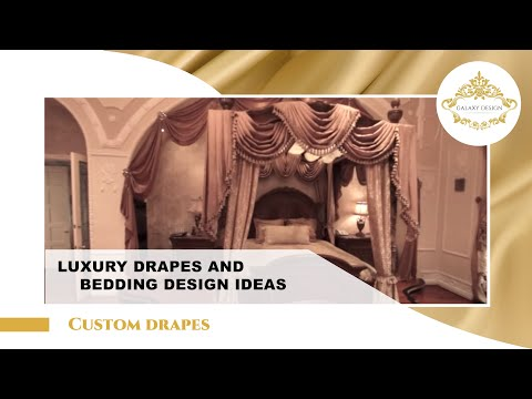 Video #10: Custom Made Drapes | Swarovski Elements | Jabots
