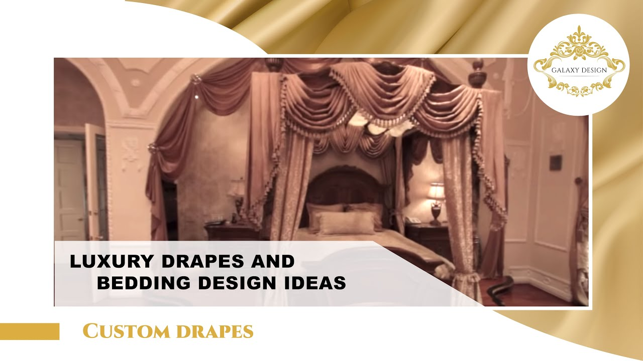 Video 10 Custom Made Drapes Swarovski Elements