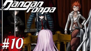 THE FIRST CLASS TRIAL - Danganronpa Week | Let's Play Danganronpa (blind) part 10
