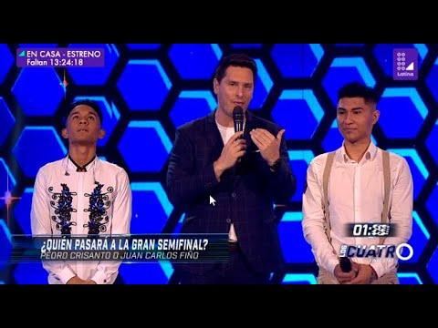 Los Cuatro Finalistas: Pedro Crisanto y Juan Carlos Fiño chocaron en un atractivo duelo