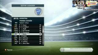 FIFA14 ALL STATS LIGA ARGENTINA - FIFAALLSTARS.COM