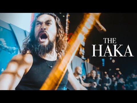 HAKA | Aquaman Premiere | Jason Momoa