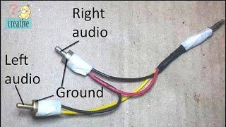Rebuild connect 3.5mm audio jack