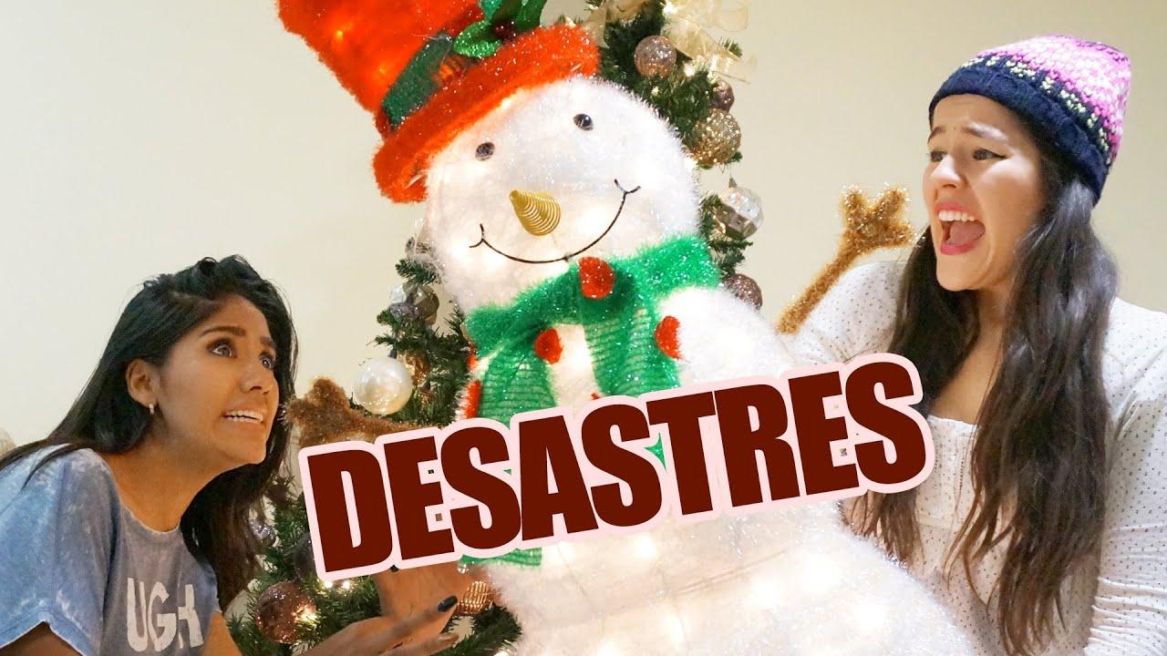 DESASTRES AL ADORNAR PARA NAVIDAD EN CASA | VLOG LOS POLINESIOS ...