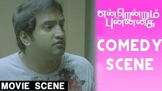 Super Comedy Scene - Endrendrum Punnagai - Jiiva | Trisha | Santhanam | Harris Jayaraj