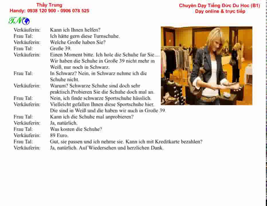 German Conversation A2