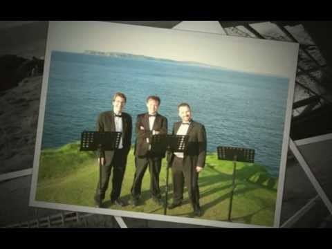 Ulster String Quartet (Trio!) at Carrick-a-Rede