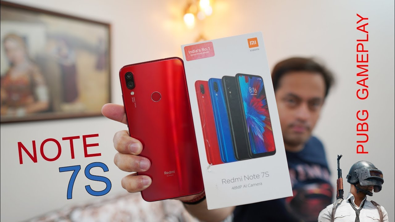 Redmi Note 7S unboxing, first impression, PUBG Gameplay, camera sample -  kaisa hai? from Rs  11K