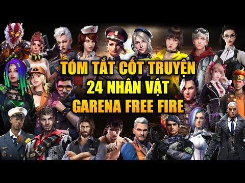 Free Fire | Tóm Tắt Cốt Truyện 24 Nhân Vật Trong Vũ Trụ Free Fire | Rikaki Gaming