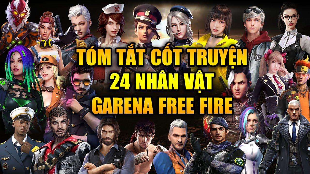 Free Fire | Tóm Tắt Cốt Truyện 24 Nhân Vật Trong Vũ Trụ Free Fire | Rikaki Gaming | Tổng hợp những kiến thức về mô hình nhân vật free fire chuẩn nhất