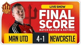 GOLDBRIDGE! Manchester United 4-1 Newcastle Match Reaction