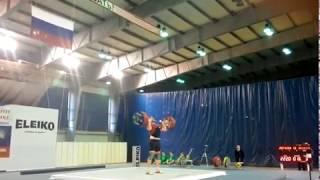 Кубок России 2015 по тяжелой атлетике в г.Старый Оскол
