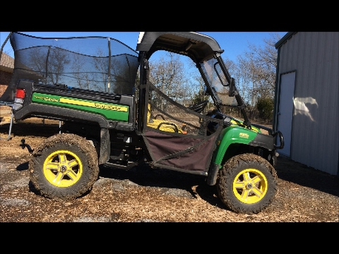 John Deere Gator 855D 50 Hour Maintenance