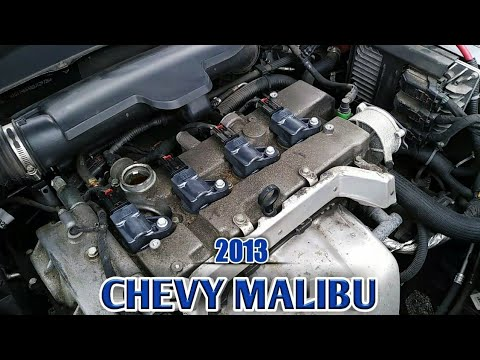 Spark Plugs Coil Pack Replacement Chevy Malibu Youtube
