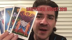 SAGITTARIUS AUGUST 2019 Tarot Reading WOW! FATED TURN OF EVENTS! DEVASTATION LEADS TO HAPPINESS