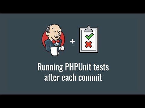Running PHPUnit tests after each commit (Get started with Jenkins part 5)