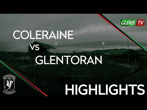 Coleraine vs Glentoran - 17th November 2018
