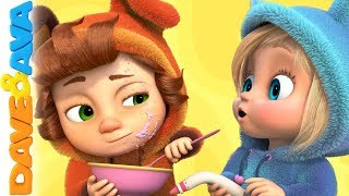 🐻Nursery Rhymes and Baby Songs | Kids Songs by Dave and Ava 🐻