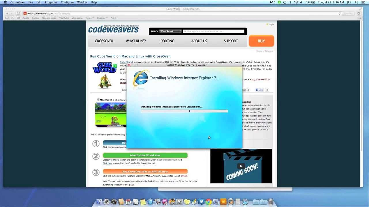 how to use crossover on mac