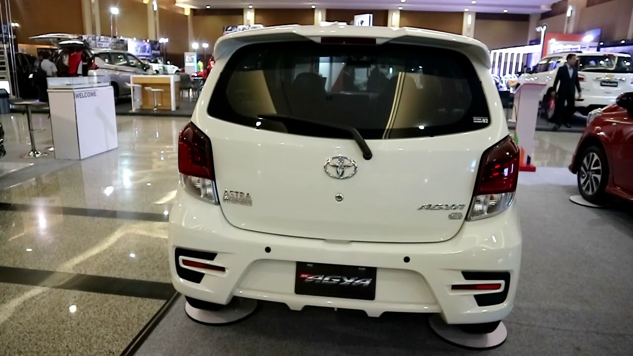 Perbedaan New Agya G Dan Trd Spesifikasi Grand Veloz 1.3 Toyota Type 2018 White Colour Exterior And Interior Youtube